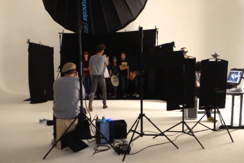 Backstage Video GSA Shoot